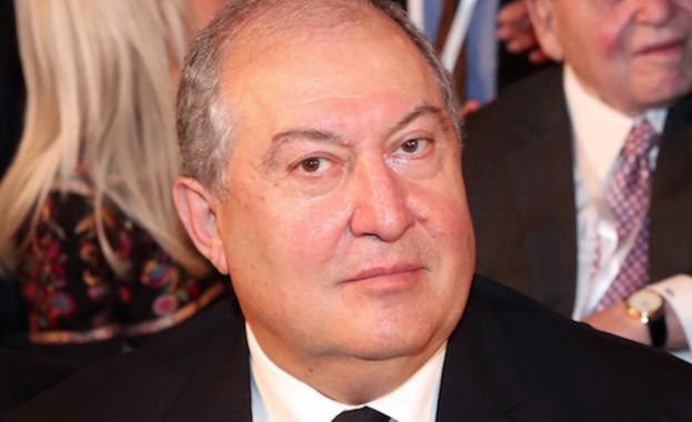 Президентът на Армения Армен Саркисян се срещна днес с представители
