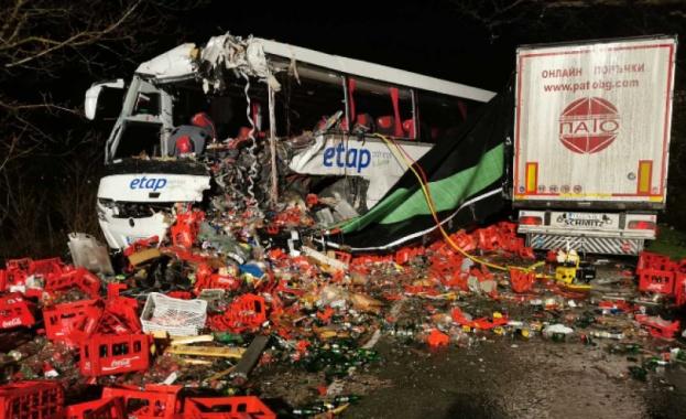 При автобусна катастрофа в Хърватия са загинали 10 души. Ранените