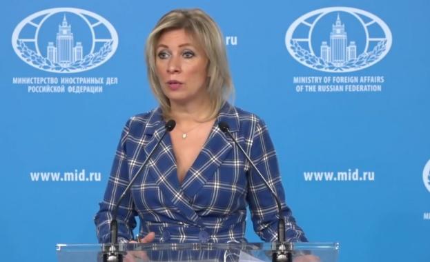 Захарова: ЕС да се откаже от разполагането на военна учебна мисия в Украйна