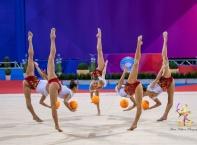 Злато и сребро за българките на Световната купа по художествена гимнастика, снимки: БФХГ