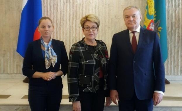 Председателят на ПП АБВ Румен Петков и лидерът на АБВ-Младежи