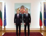 Президентът Румен Радев се срещна с Владица Димитров и Зоран Джуров
