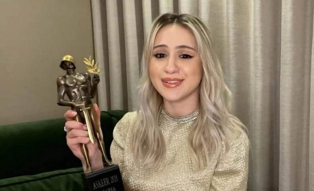 """Номинираната за """"Оскар"""" Мария Бакалова получава почетен """"Аскеер"""""""