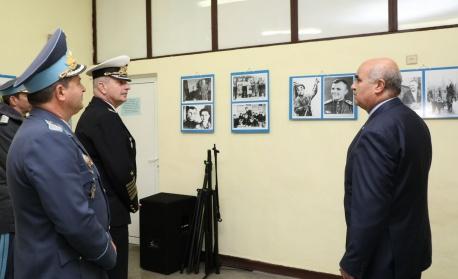 Адмирал Ефтимов: Искаме наши представители в бъдещия космически център на НАТО