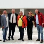Румен Петков и д-р Пламена Заячка бяха гости на събитията в чест на 60-та годишнината от първия полет