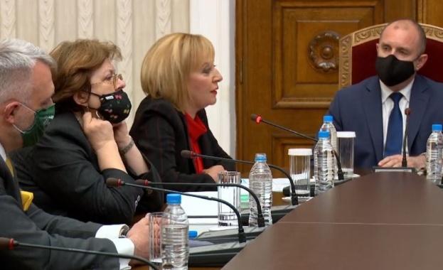 """Мая Манолова: Бихме подкрепили кабинет с участието на """"Има такъв народ"""" и """"Демократична България"""""""