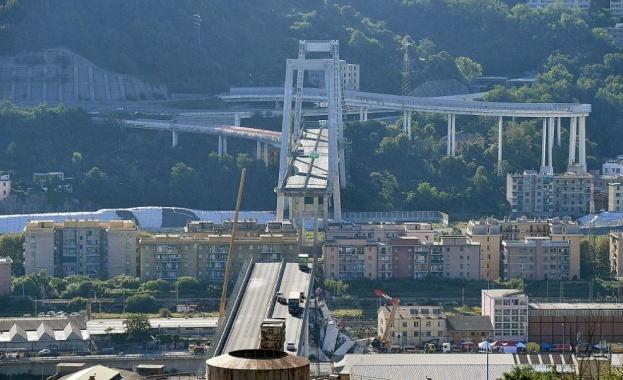 Италиански прокурори приключиха разследването във връзка с рухването на мост