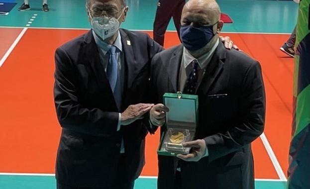 Красен Кралев стана посланик на Европейския волейбол.