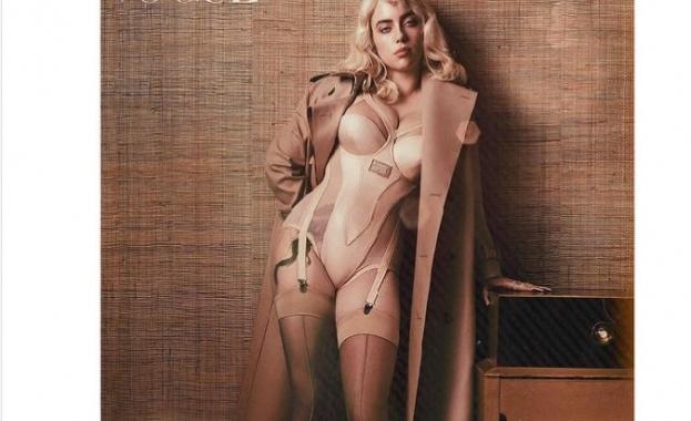 "Били Айлиш позира за ""Vogue"" с впечатляваща нова визия"