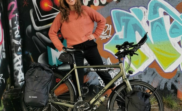 Холандка кара колело до Токио, за да популяризира регенеративното земеделие