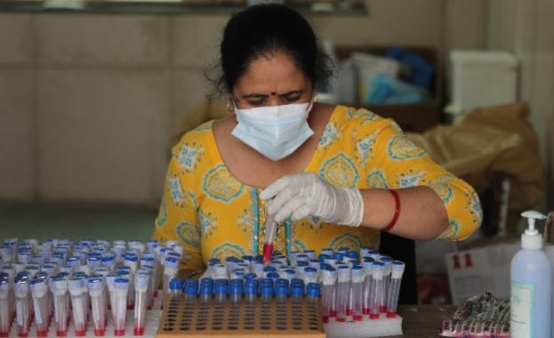 Рекорден брой смъртни случая от коронавирус са регистрирани в Индия