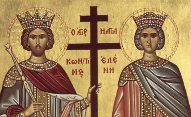 На 21 май православната църквата почита паметта на Свети Константин