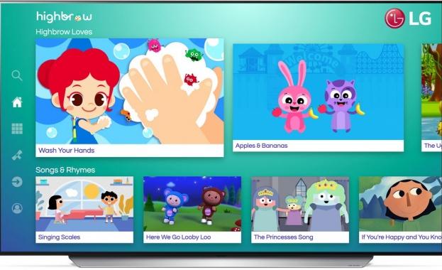 Популярните видеоклипове на Highbrow разширяват възможностите за образование чрез телевизорите