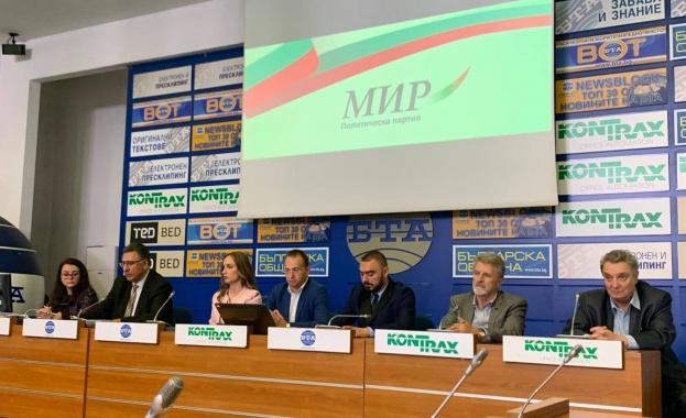 Симеон Славчев: ПП МИР представя алтернативата за България