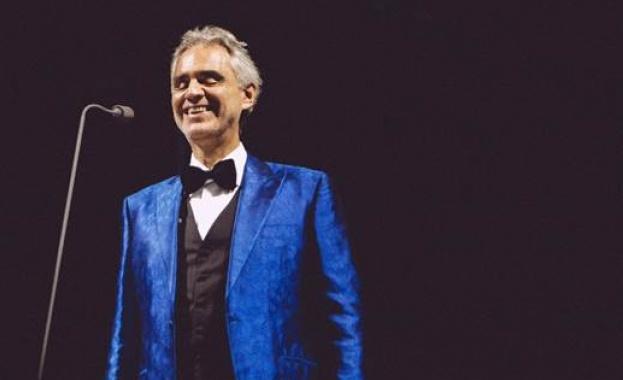 Световнопризнатият италиански тенор Andrea Bocelli ще пее на откриващата церемония