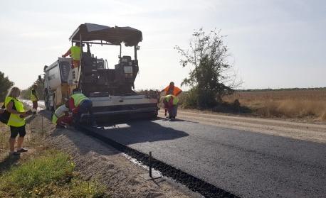 """Ремонтират международния път към Граничния пункт """"Лесово"""""""
