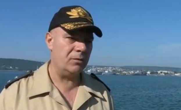 Командирът на ВМС за падналия изтребител: Ключов етап е намирането на черната кутия