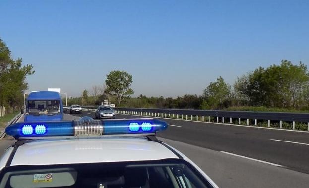 Катастрофа затвори пътя Чирпан - Стара Загора, в района на