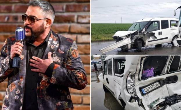Той е бил ударен от автобус Певецът Иван Динев-Устата е