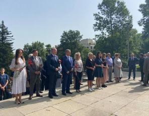 Почит към Деня на скръбта от екипа на Руското посолство