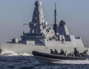 Руски военни откриха предупредителен огън срещу британски кораб в Черно море