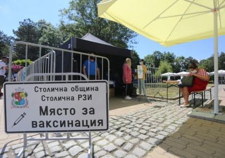 Отварят временни имунизационни пунктове в страната през уикенда