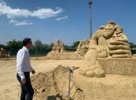 Приказни герои оживяват на Пясъчния фестивал в Бургас