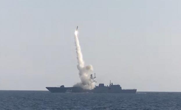 """Русия тества хиперзвукова ракета """"Циркон"""""""