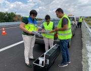 АПИ: Маркировката в ремонтирания участък между Чирпан и Стара Загора гарантира безопасността на движението