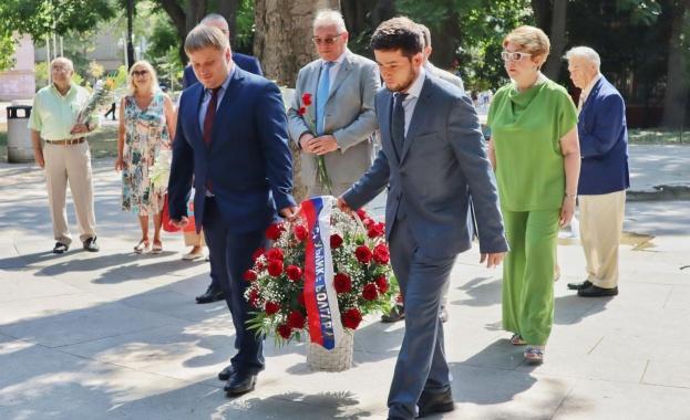 С кмета Портних разговаряха за балет и българо-руско сътрудничество Руската