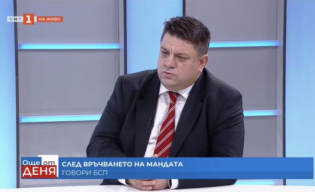 Атанас Зафиров: БСП показа, че е партията на диалога и на разума