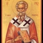 Св. свщмчк Антим, еп. Никомидийски