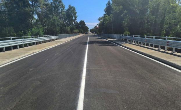 Завърши строителството на нов мост над река Бошулска в област Пазарджик