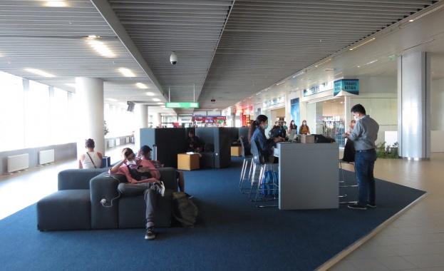 Нов дизайн и иновативни мебели за пътниците  на летище София