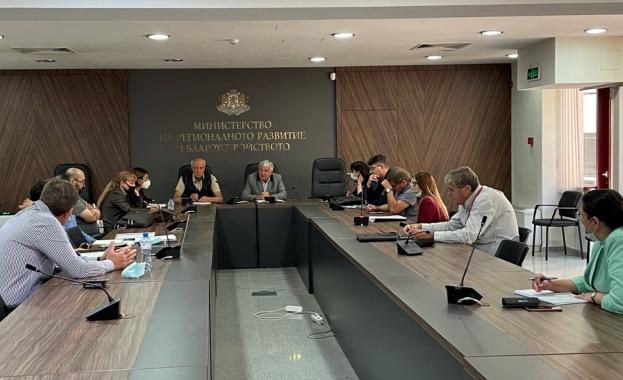 Водният проект на Сливен бе обсъден на среща в МРРБ