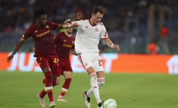 Рома победи ЦСКА с 5:1 в мач от Лигата на конференциите