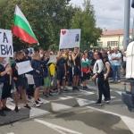 Отново протест в Айтос блокира пътя