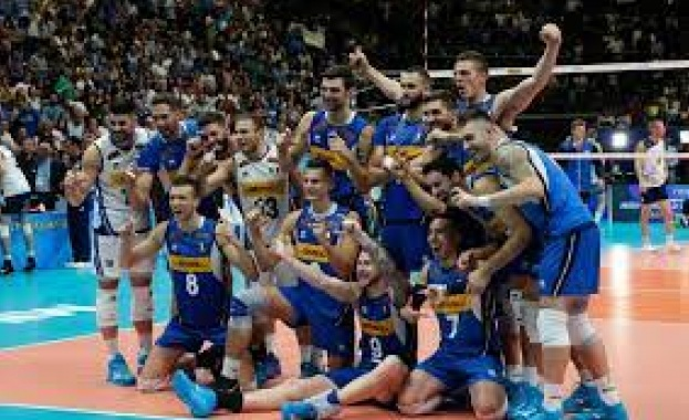 Италия детронира Сърбия и ще играе за титлата от европейското първенство по волейбол за мъже