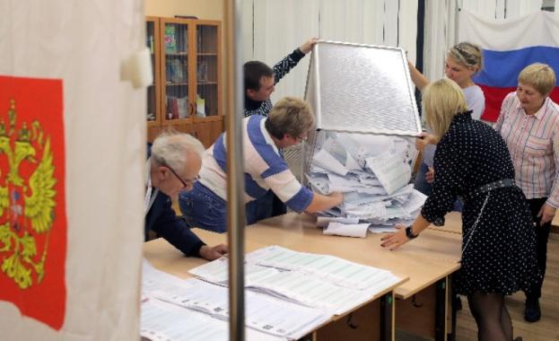Изборите в Русия легитимираха казионните партии