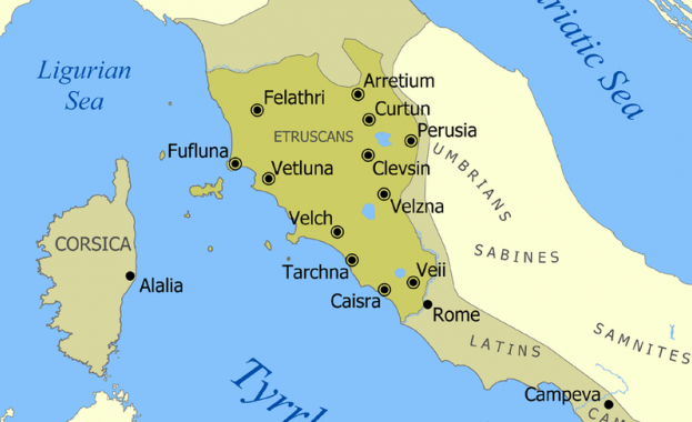 Етруските идват от Понтийско-Каспийската степ
