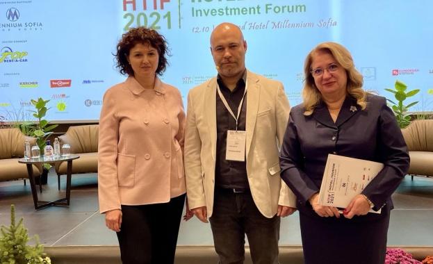 Ирена Георгиева открои новите тенденции в туризма при откриването на Хотелски инвестиционен форум 2021