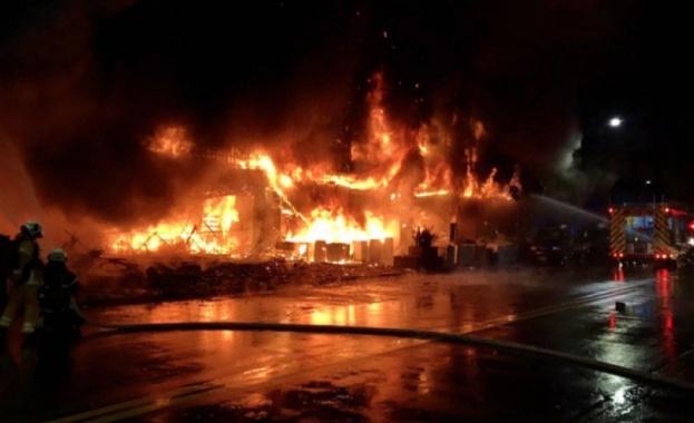 Пожар в жилищна сграда в Тайван взе десетки жертви