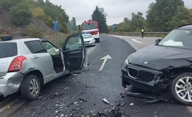 Тежка катастрофа е станала на пътя между Хасково - Кърджали