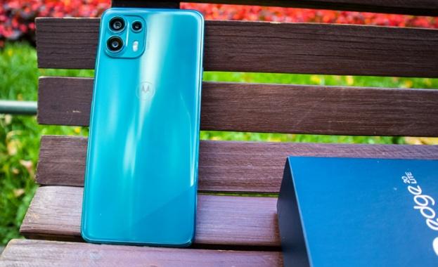 През август беше премиерата на серията edge 20 на Motorola,