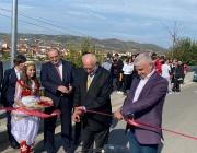 Алея в градския парк на Белш, Албания, носи името на  българска художничка с албански корени Лика Янко