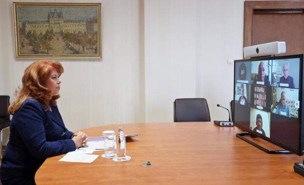 """Срещата е част от инициативата на Илияна Йотова """"Народността не"""